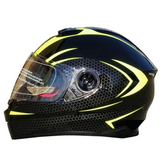 MAXX FF 965 Helma se sluneční clonou černozelená reflex