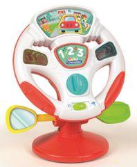 Clementoni volan Baby na baterije, šk.17241