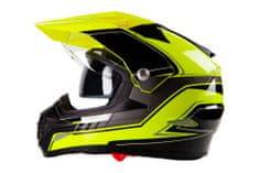 MAXX SC09 Enduro helma se sluneční clonou Velikost: L
