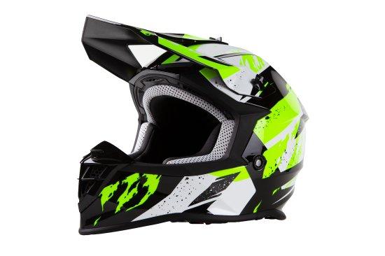 MAXX MX 633 cross helma černozelená reflex