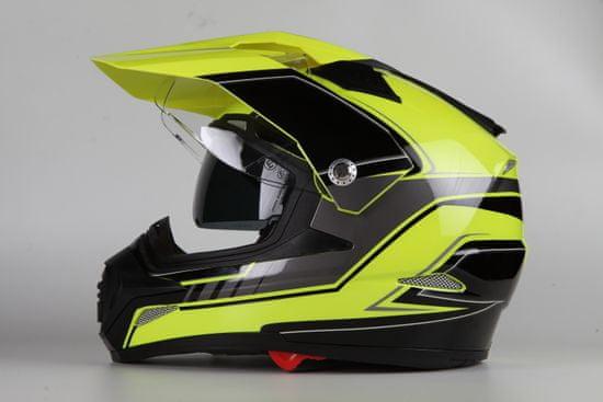 MAXX SC09 Enduro helma se sluneční clonou