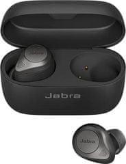 Jabra Elite 85t brezžične slušalke, Titanium Black