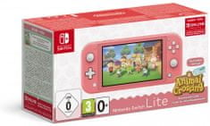 Nintendo Switch Lite, ružová + Animal Crossing: New Horizons (NSH125)
