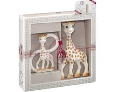 Vulli Darilni set žirafa Sophie in in obroček Sophiesticated