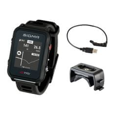 Sigma iD.TRI Basic multisportovní hodinky - černé