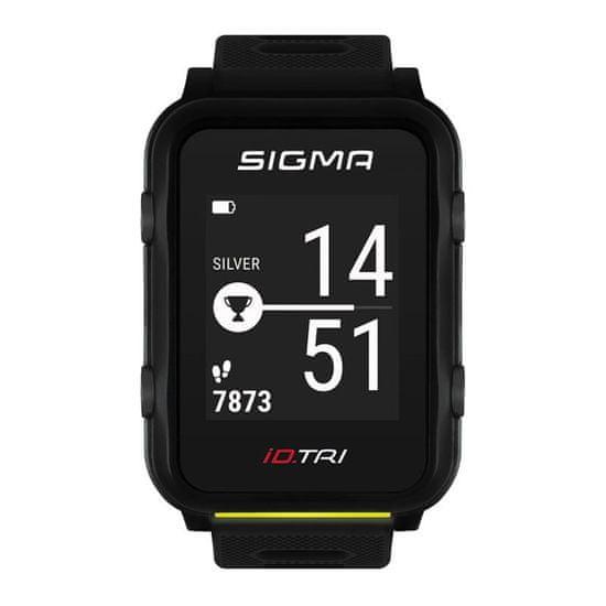 Sigma iD.TRI SET multisportovní hodinky - černé