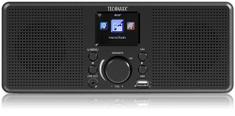 Technaxx Internetové stereo rádio (TX-153), černá
