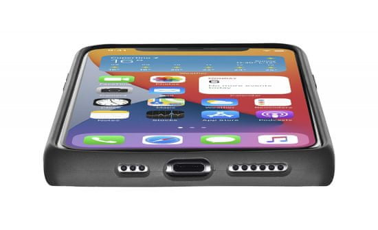 CellularLine Sensation ovitek za iPhone 12 mini, črn