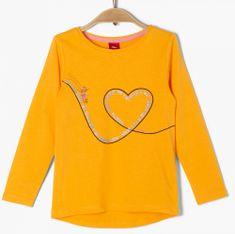 s.Oliver dívčí tričko 403.10.008.12.130.2041126 116/122 žlutá