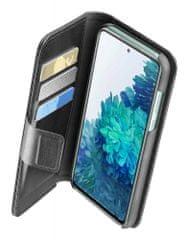CellularLine Agenda ovitek za Samsung Galaxy S20 FE, preklopni, črn