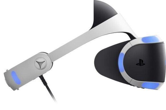 Sony PlayStation VR v2 + Kamera v2 + PS5 adaptér + VR Worlds (PS719809395)