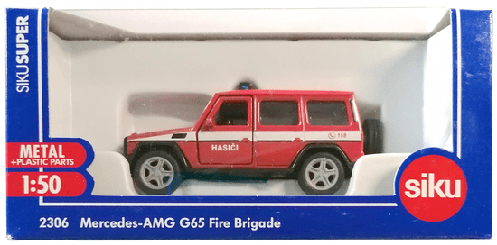 SIKU model vozila Super 3062 gasilci Mercedes AMG G65