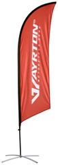 Ayrton Vlajka AYRTON - vč. stojanu, zátěže a obalu, výška 2,5 m XX VLAJKA 03