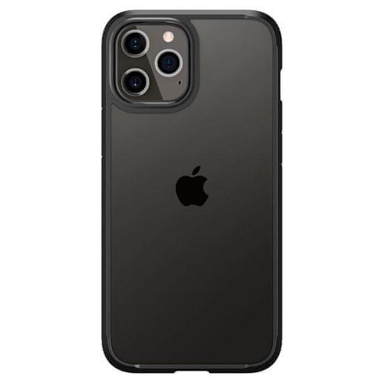 Spigen Ultra Hybrid silikonski ovitek za iPhone 12 Pro Max, črna