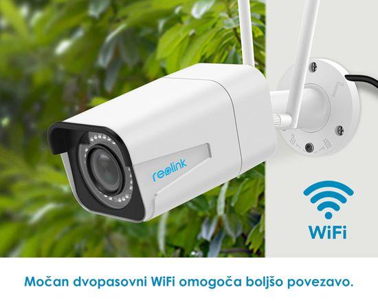 Reolink RLC-511W zunanja brezžična WiFi kamera, 5MP Super HD, mikrofon, IP66