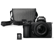 Nikon kit Z50 brezzrcalni fotoaparat + objektiv 16-50 + SD kartica, 16 GB + torba