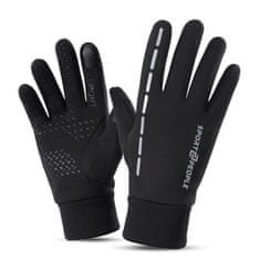 Sport2People zimske športne rokavice, črne, S/M