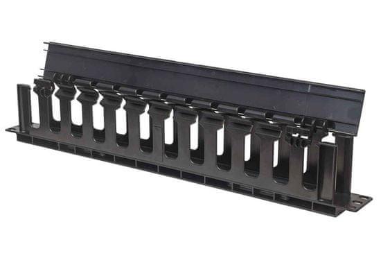 Intellinet 19 organizator kablov, 1U, črn (714679)