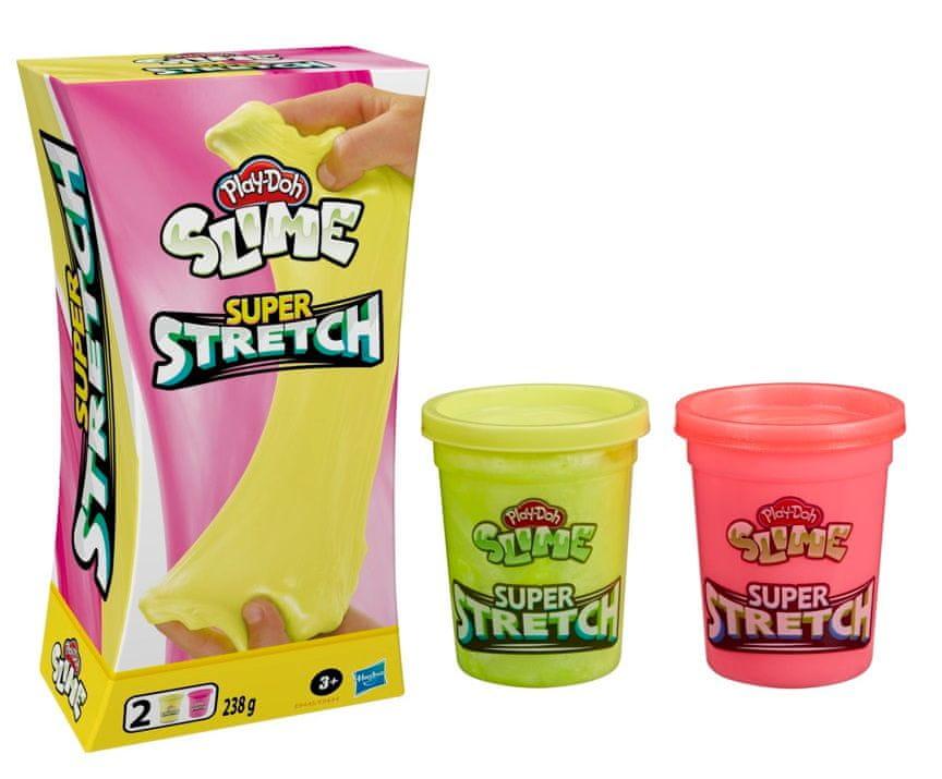 Play-Doh Super natahovací modelína žlutá/růžová