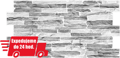 Grace PVC 3D obklad GRACE - Bridlica tmavo šedá