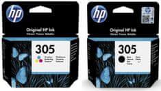 HP 305 černá + barevná (3YM61AE + 3YM60AE)