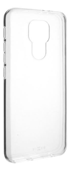 FIXED TPU gelové pouzdro pro Motorola Moto E7 Plus, čiré FIXTCC-591