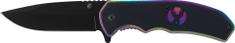 Ausonia zložljiv nož, črn (26594)