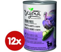 BEYOND Beyond Grain Free kúsky v paštéte bohaté na morku s cuketou 12x400 g