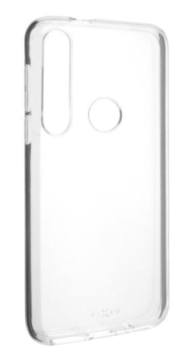 FIXED TPU gelové pouzdro pro Motorola Moto G8 Plus, čiré FIXTCC-616