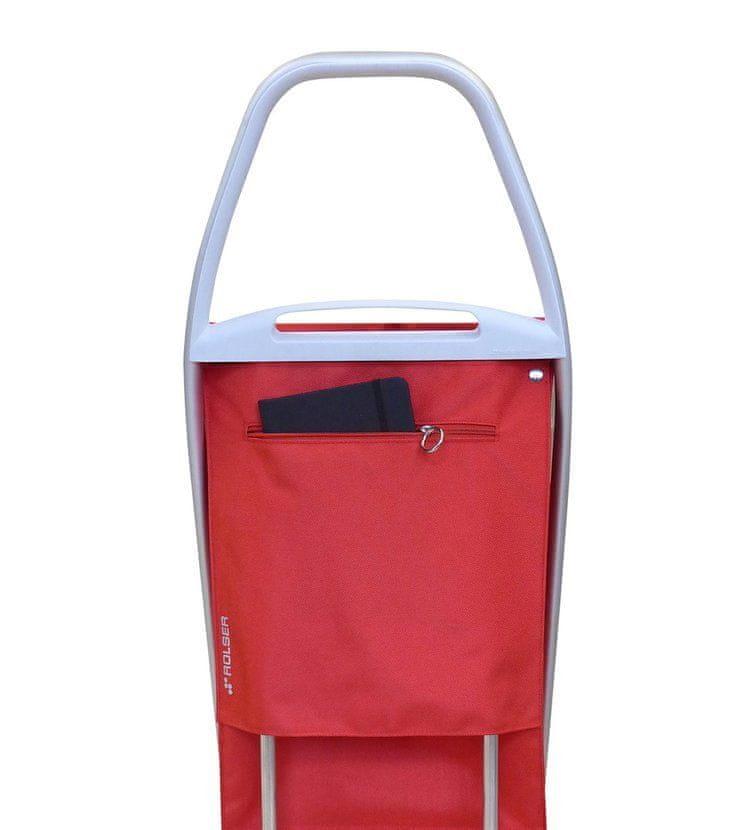 Rolser Com Soft 8 nákupní taška na kolečkách, aqua