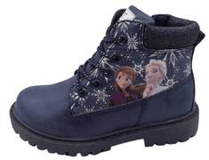 Disney dekliški gležnarji Frozen D4310109S, 26, temno modri