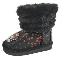 Disney dekliški škornji Minnie D3010083S, 24, črni