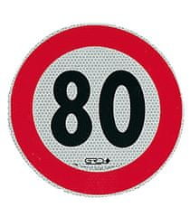 Bottari nalepka omejitev hitrosti 80 km