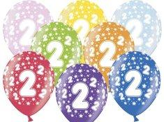 SELIS baloni 2 leti, 30 cm, 6 kosov