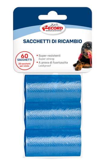 RECORD vrečke za pasje iztrebke, 27,5 x 30 cm, 3x 20 vrečk