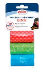 RECORD Decor vrečke za pasje iztrebke, 27,5 x 30 cm, 3x 20 vrečk