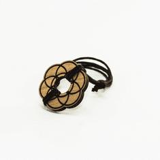 Woodly Lesen nakit - Zapestnica | Seme življenja češnja