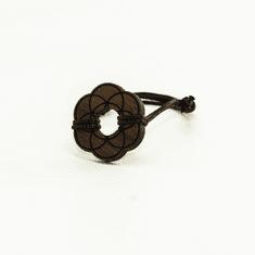 Woodly Lesen nakit - Zapestnica | Seme življenja oreh