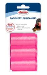 RECORD vrečke za pasje iztrebke, 27,5 x 30 cm, 6x 20 vrečk