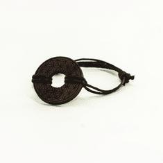 Woodly Lesen nakit - Zapestnica | Roža življenja oreh