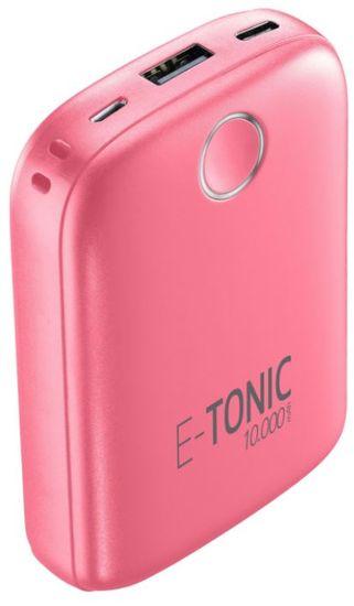 CellularLine  E-TONIC 10 000 HD prijenosna baterija, roza