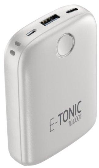 CellularLine E-TONIC 10 000 HD prijenosna baterija, bijela