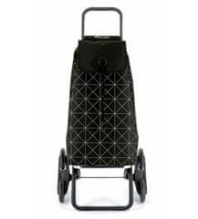 Rolser I-Max Star Rd6 nákupní taška s kolečky do schodů, černo-bílá