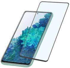 CellularLine Ochranné tvrzené sklo pro celý displej Capsule pro Samsung Galaxy S20 FE, TEMPGCABGALS20FEK, černé