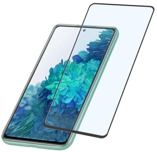 CellularLine zaštitno staklo za Samsung Galaxy S20 FE, crno