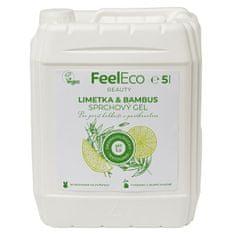 FeelEco Sprchový gel limetka & bambus 5 l