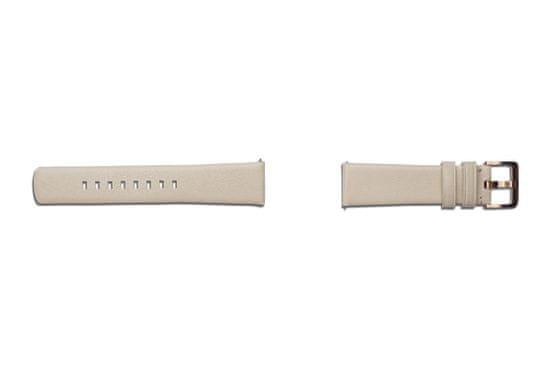 Samsung usnjeni pašček za Galaxy Watch 3 IN 42mm, bež