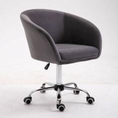 pisarniški stol Amadea, temno siv