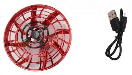 Teddies NLP disk, ki se odziva z gibanjem roke, s kablom USB, rdeč