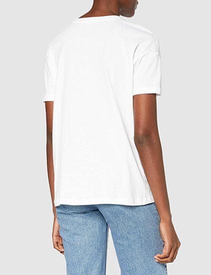 ONLY T-shirt damski ONLPIBER LIFE 15218589 BrightWhite OKULARY